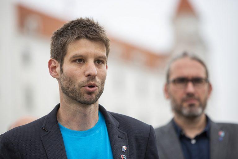 Michal Šimečka, Martin Hojsík