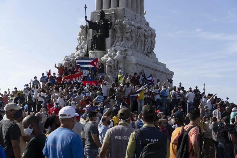 Kuba Protest