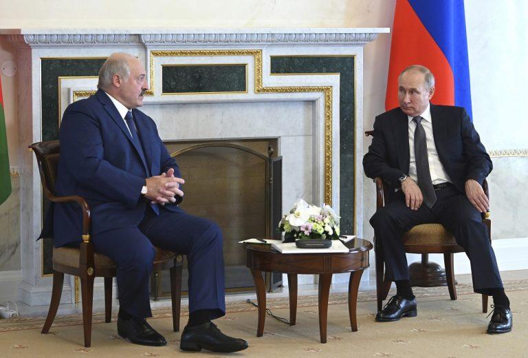 Putin Lukašenko