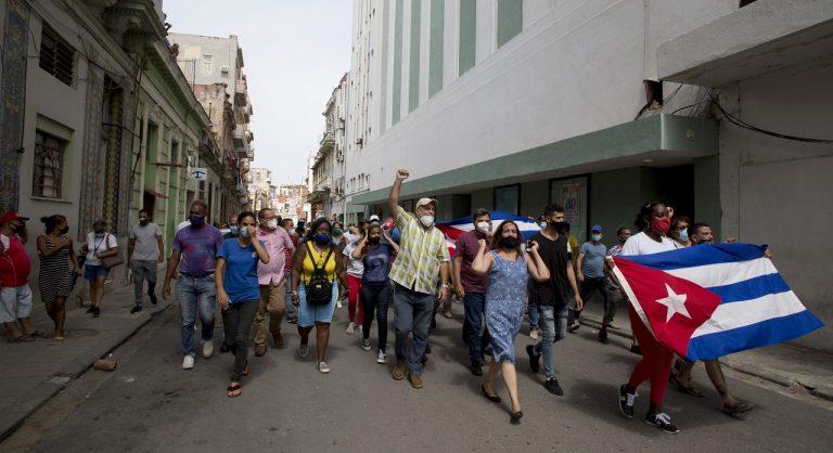 Kuba protesty