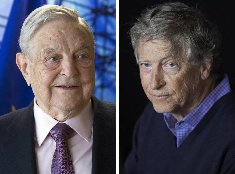 Bill Gates a George Soros