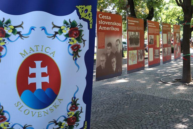 Vernisáž výstavy Cesta slovenskou Amerikou