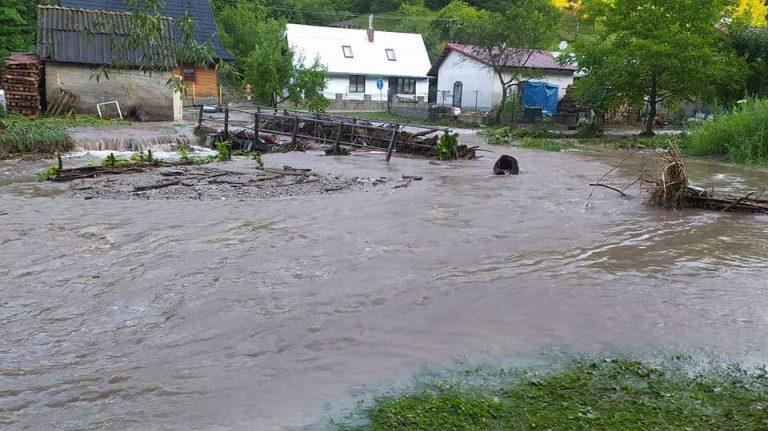 Valaská Belá povodne