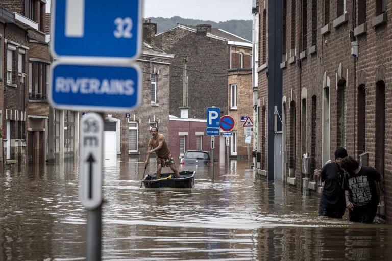 Záplavy v Belgicku