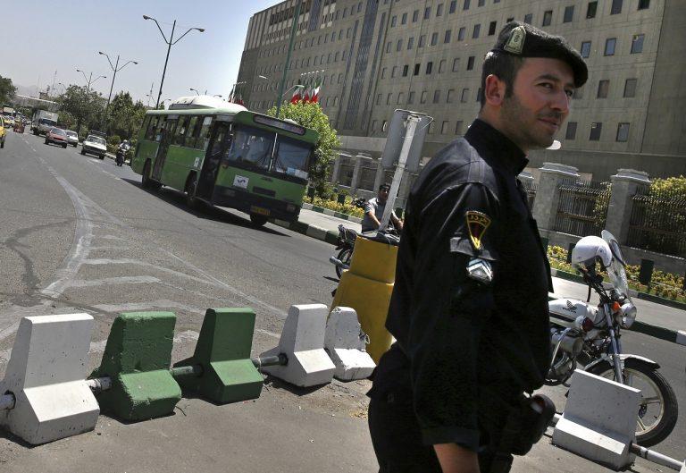 iránsky policajt