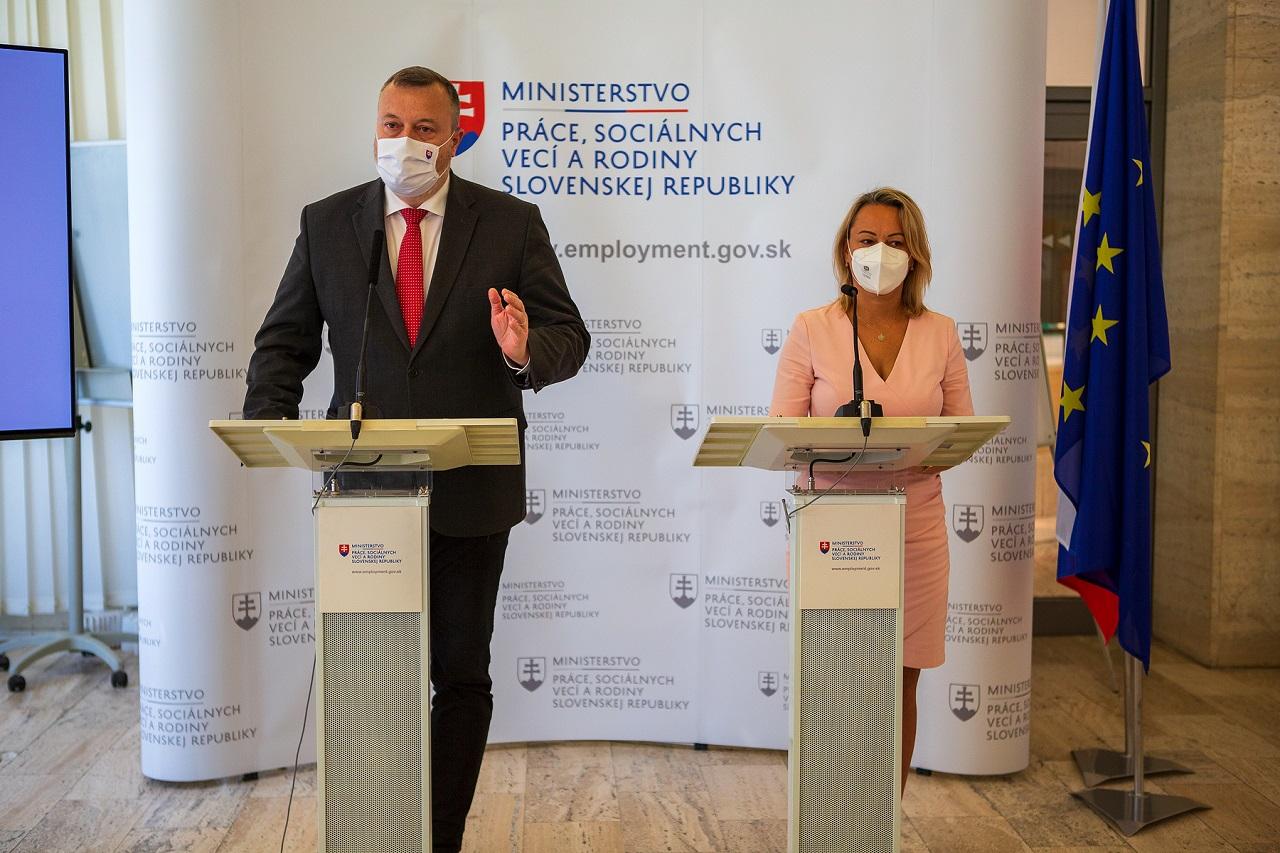 Milan Krajniak a Soňa Gaborčáková