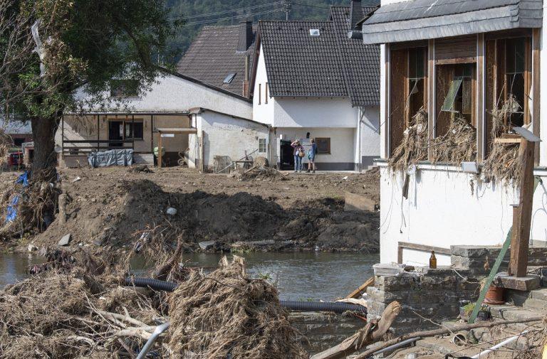 povodne v Nemecku