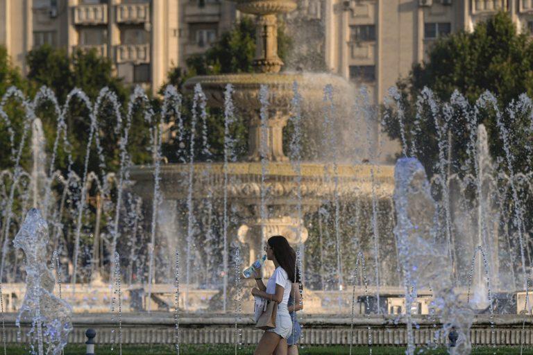 Horúčavy v Rumunsku