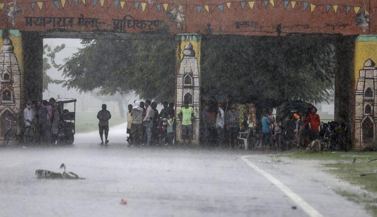 India Počasie Dažde