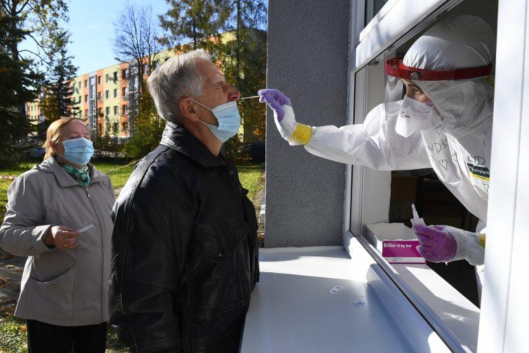 koronavírus celoplošné testovanie