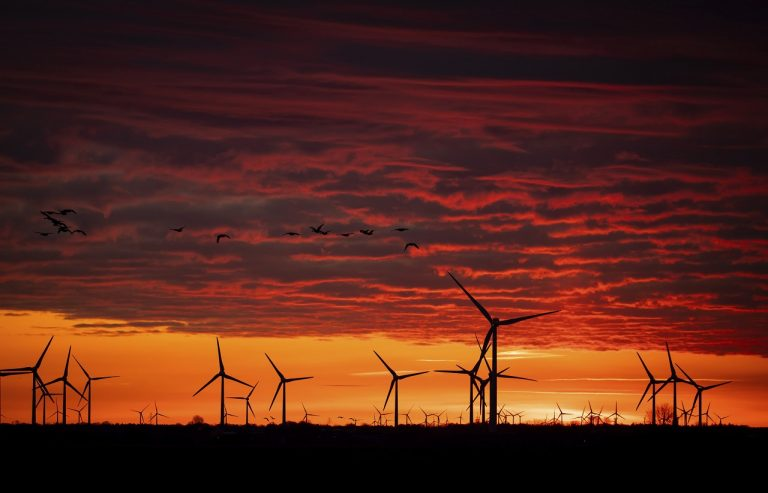 turbíny veternej elektrárne