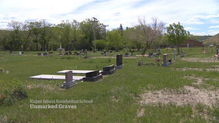 neoznačené hroby Indiánov