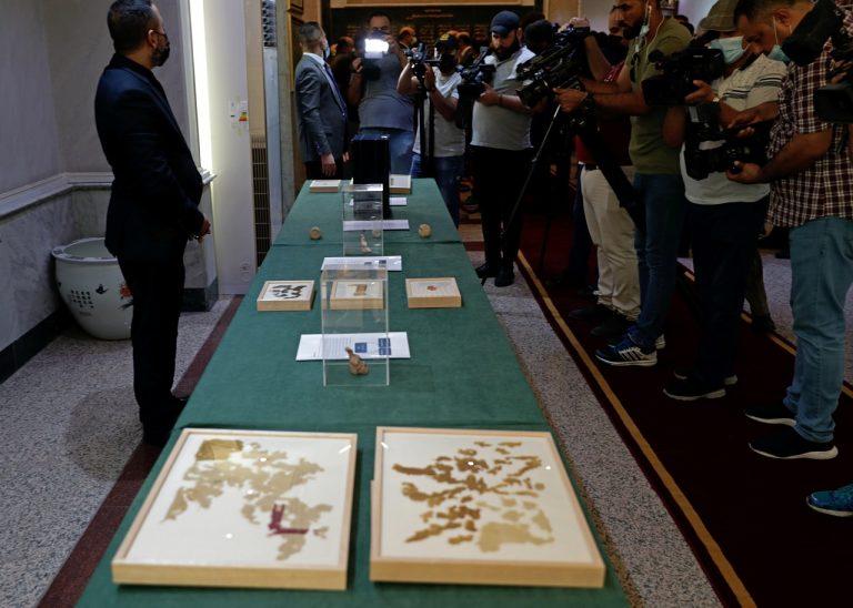 Irak artefakty