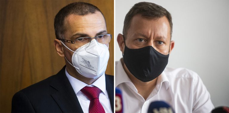 Maroš Žilinka a Daniel Lipšic
