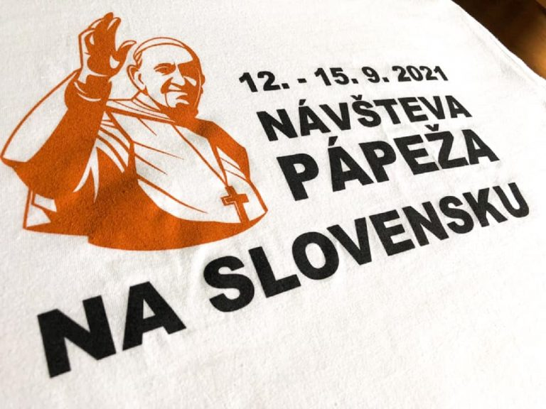 návšteva pápeža plagát