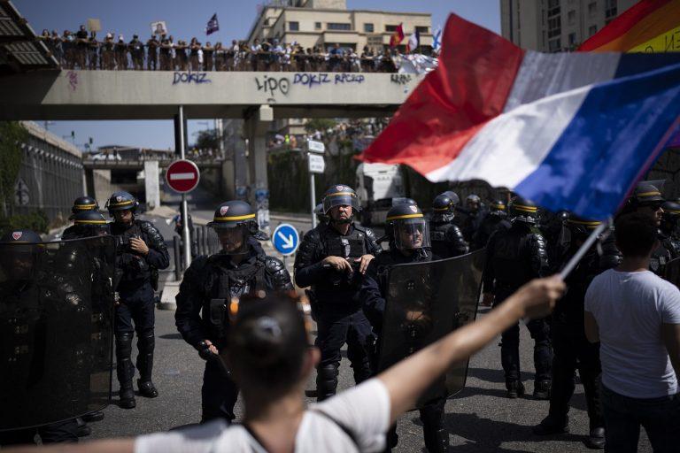 francuzsko protest