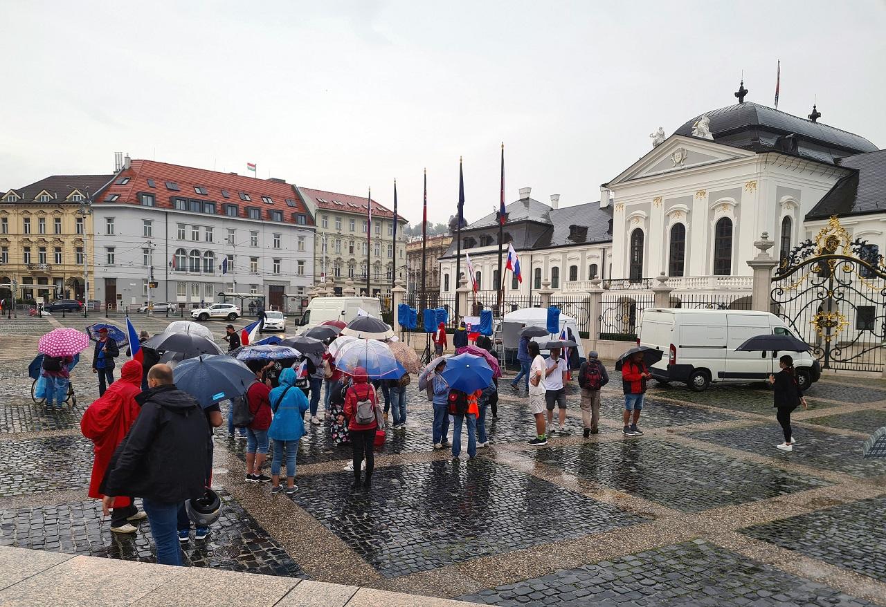 PROTEST: Proti novele zákona o verejnom zdraví