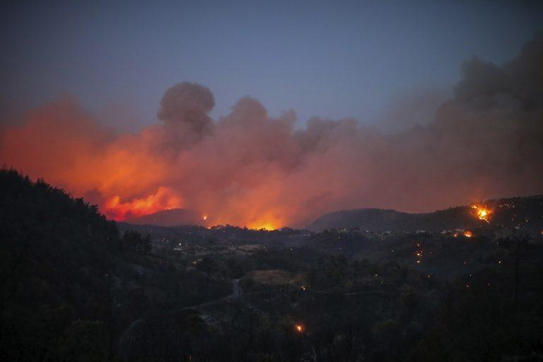 Turecko lesné požiare
