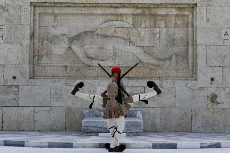 horúčavy v Grécku