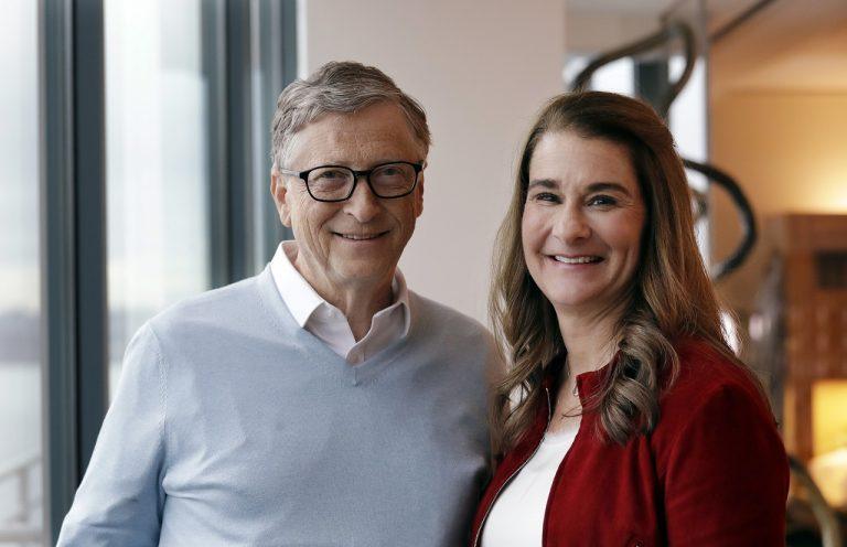 Bill Gates a Melinda French Gates