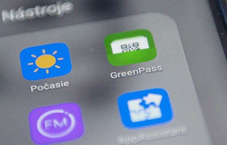 COVID pas digitálny EÚ GreenPass