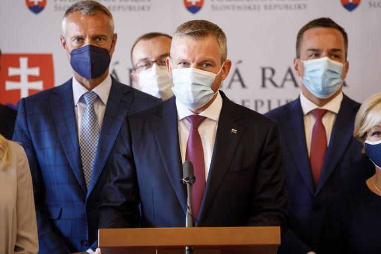 Richard Raši, Róbert Puci, Peter Pellegrini a Erik Tomáš