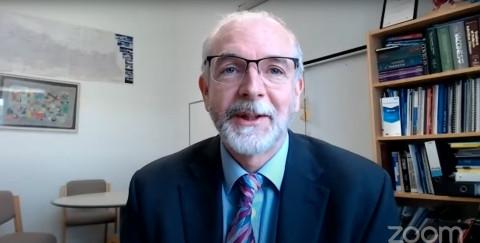 Sir Prof. Andrew Pollard, vedúci Oxfordskej skupiny pre očkovanie