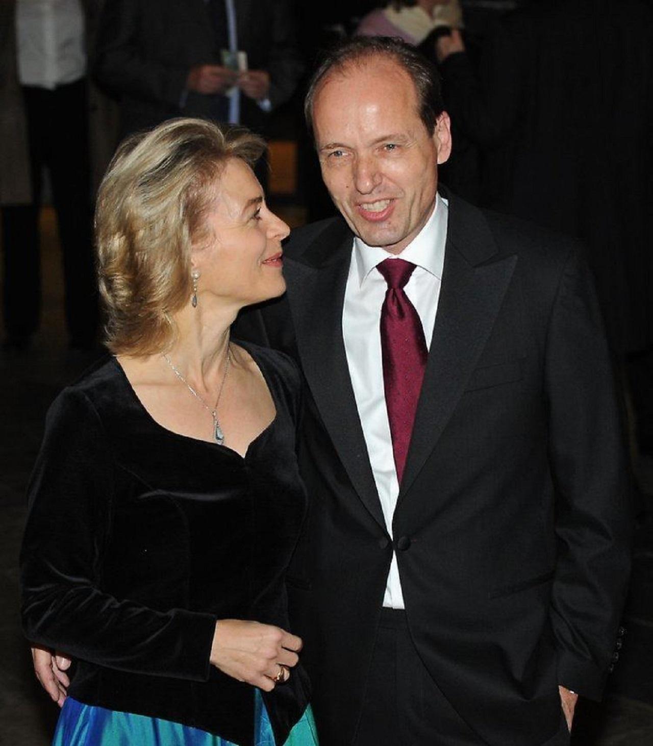 Ursula von der Leyen s manželom Heiko