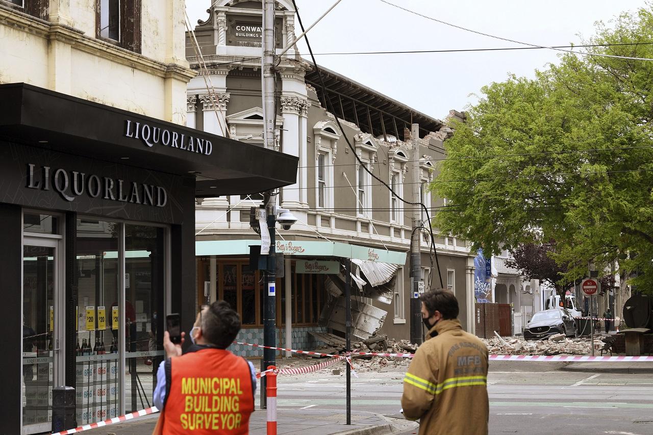 Australia zemetrasenie