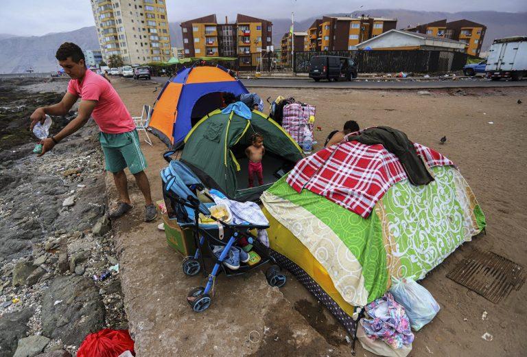 cile venezuela migranti