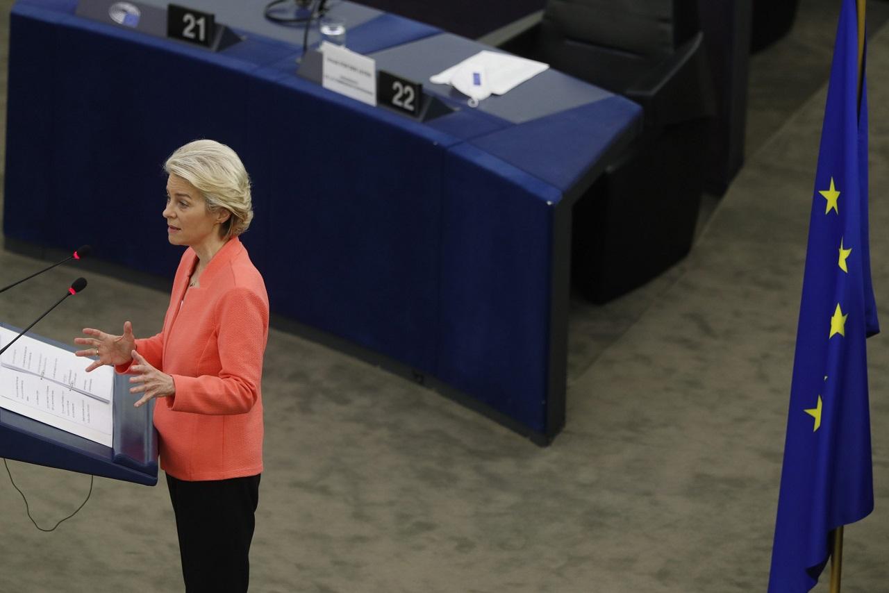 Predsedníčka Európskej komisie Ursula von der Leyenová