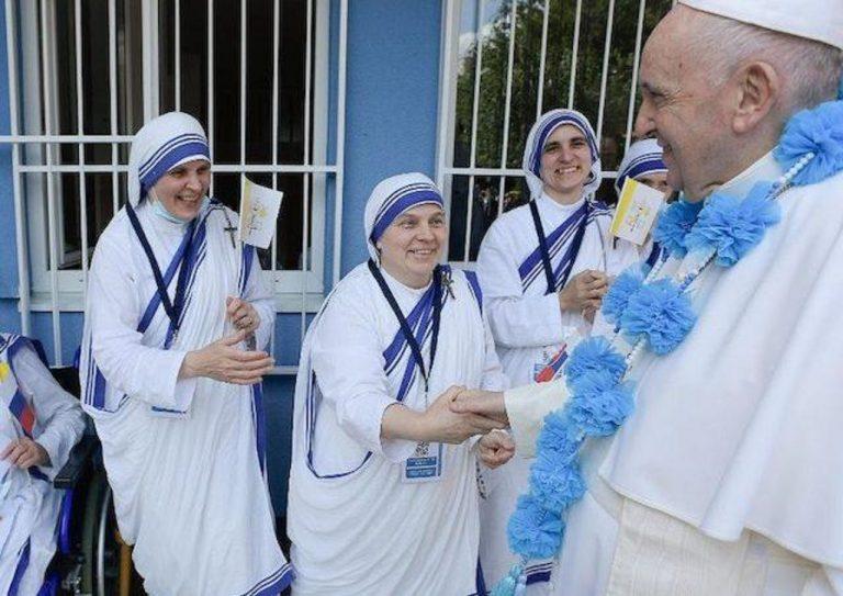 centrum Misionárok lásky pre chudobných a pápež František