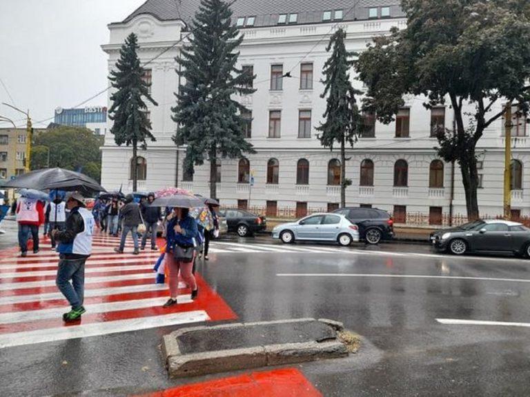 Protest odborárov