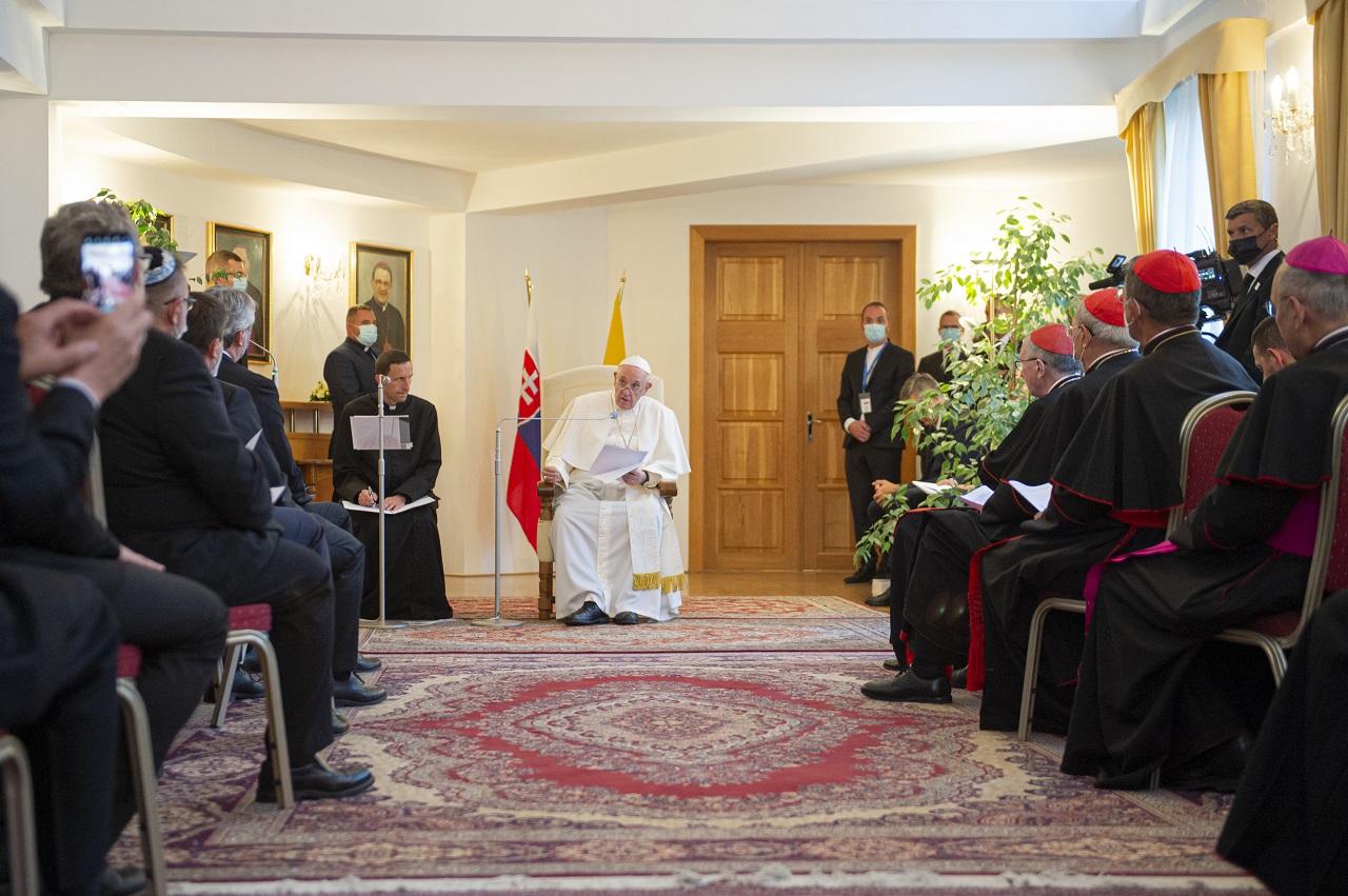 pápež František návšteva