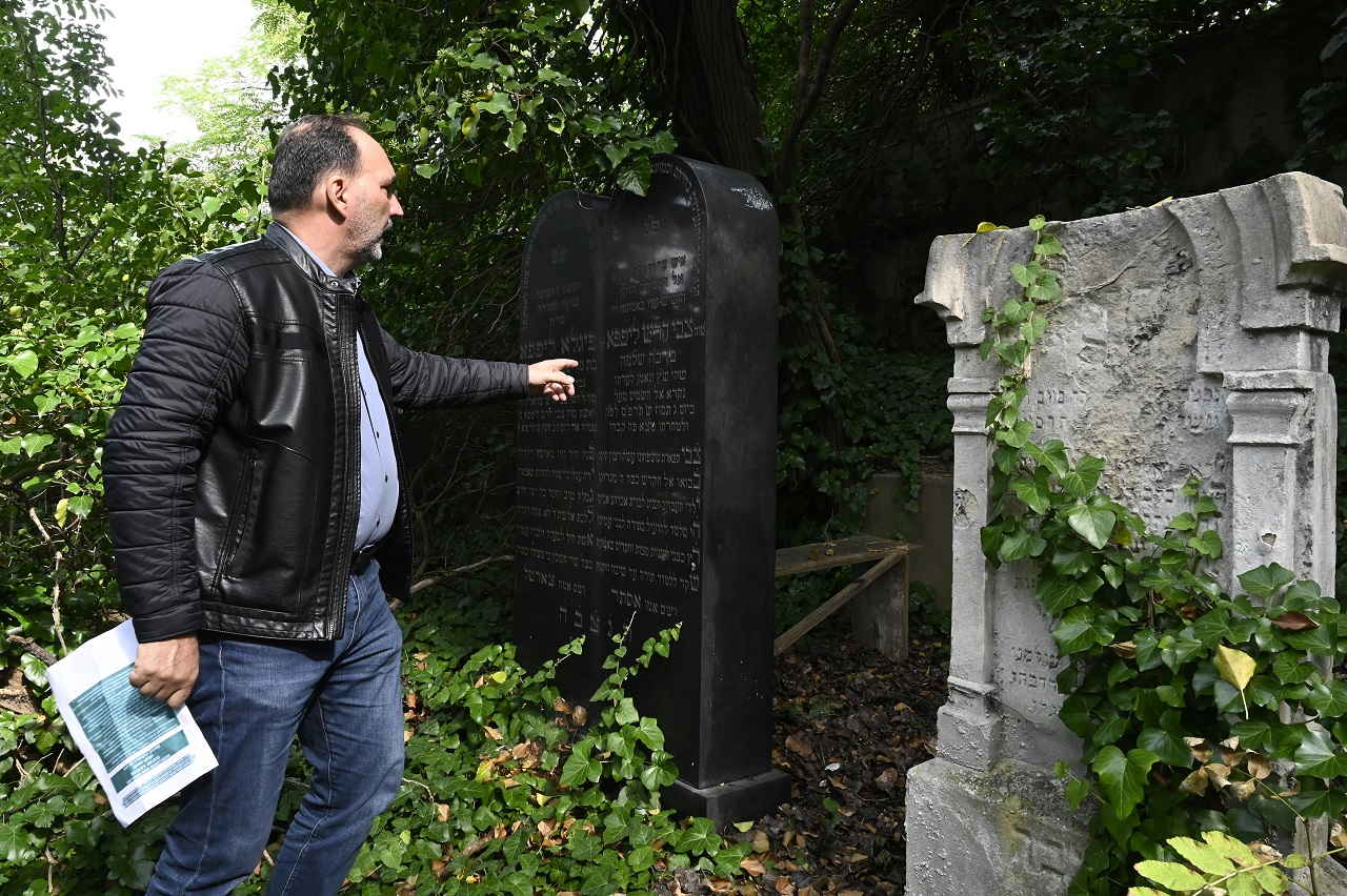 židovský cintorín Ilava