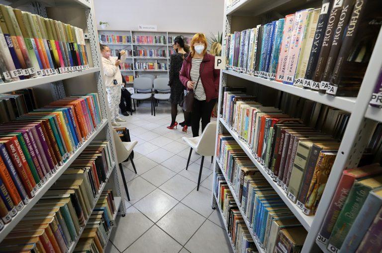 knižnica, knihy, literatúra