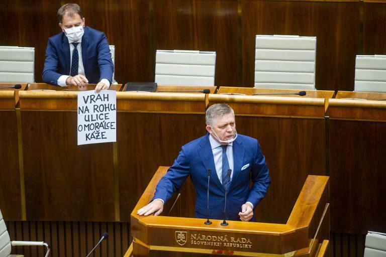 Igor Matovič, Robert Fico
