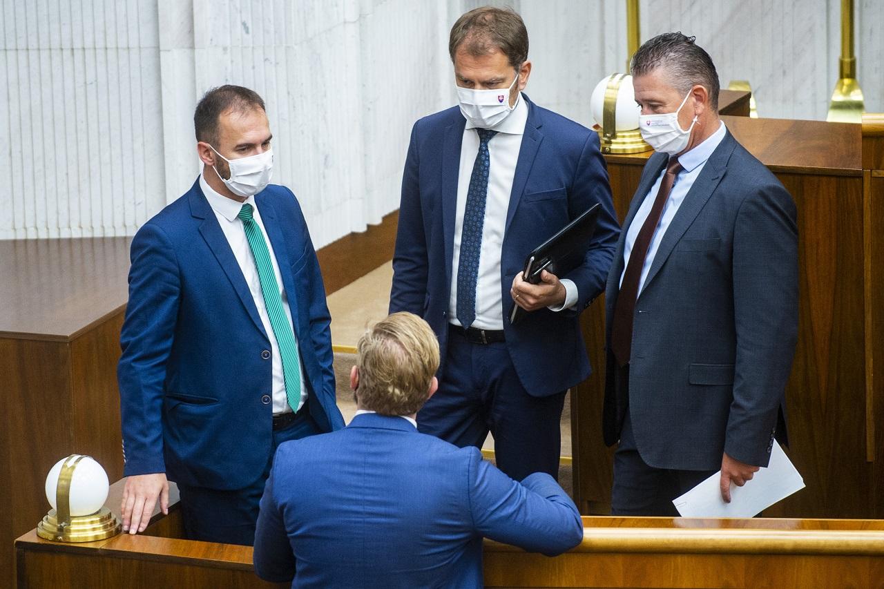 Bratislava NRSR parlament 40. schôdza Mikulec