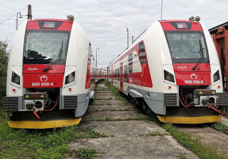 ZSSK, vlaky, vlakové súpravy