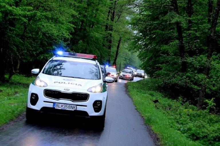 polícia, policajné autá