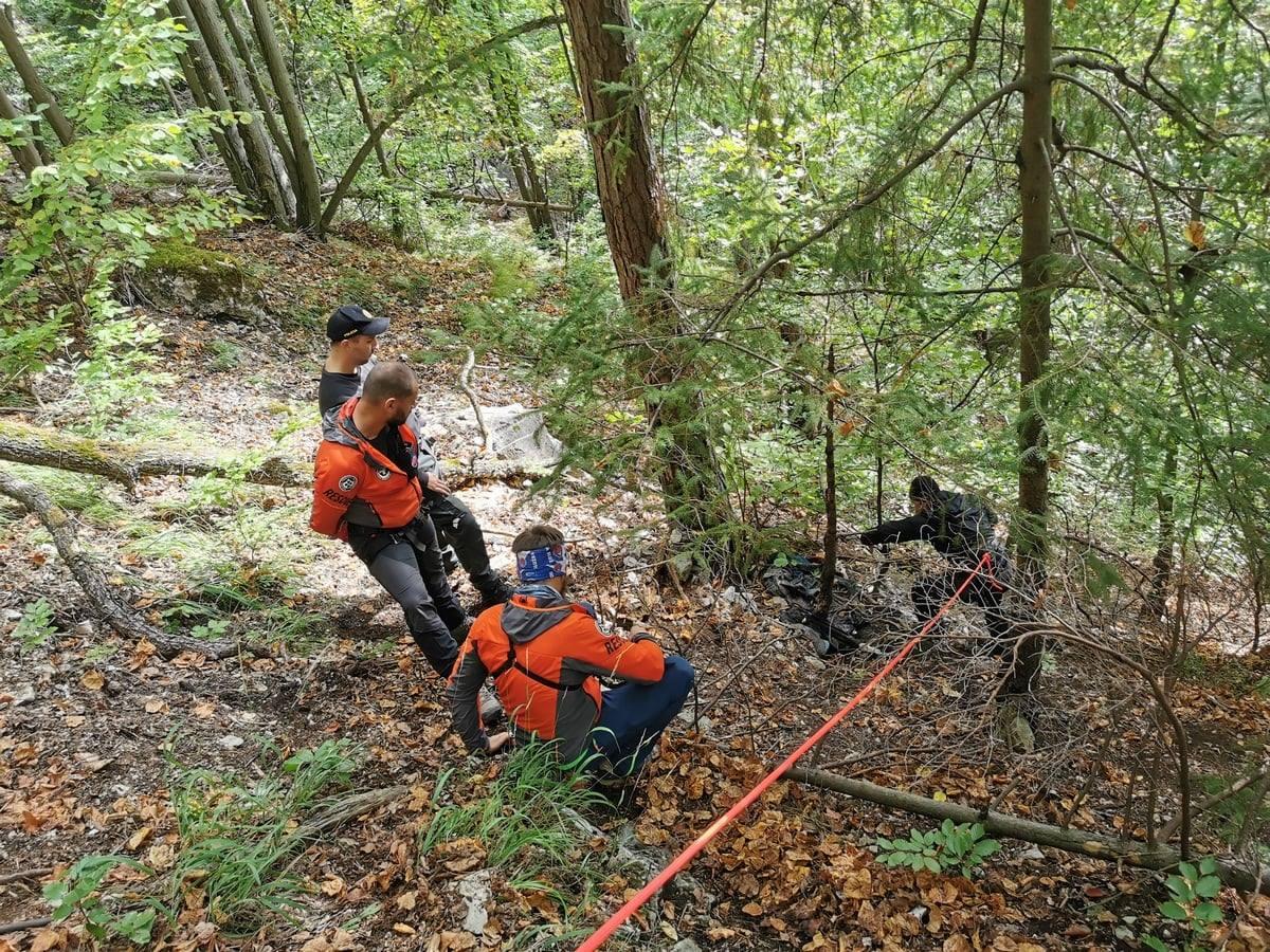 horskí záchranári nález ľudské ostatky