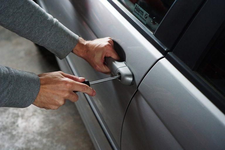 krádež, auto