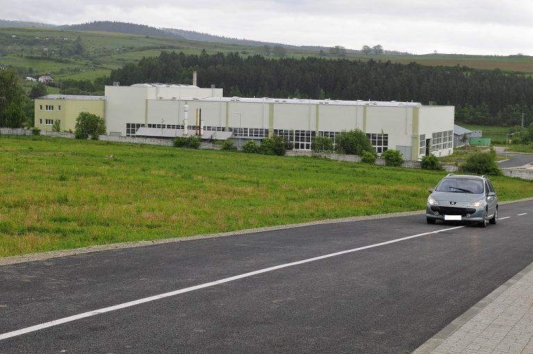 priemyselný park Levoča