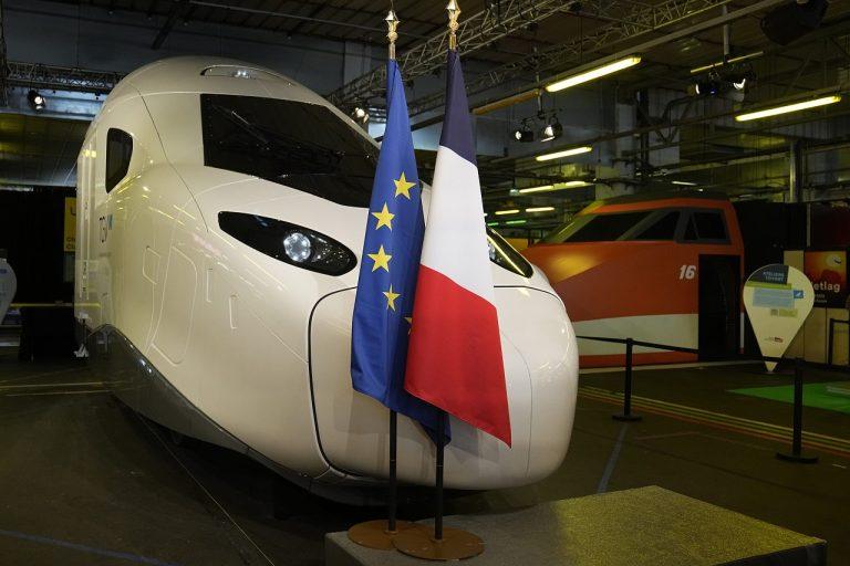 nový model rýchlovlaku TGV