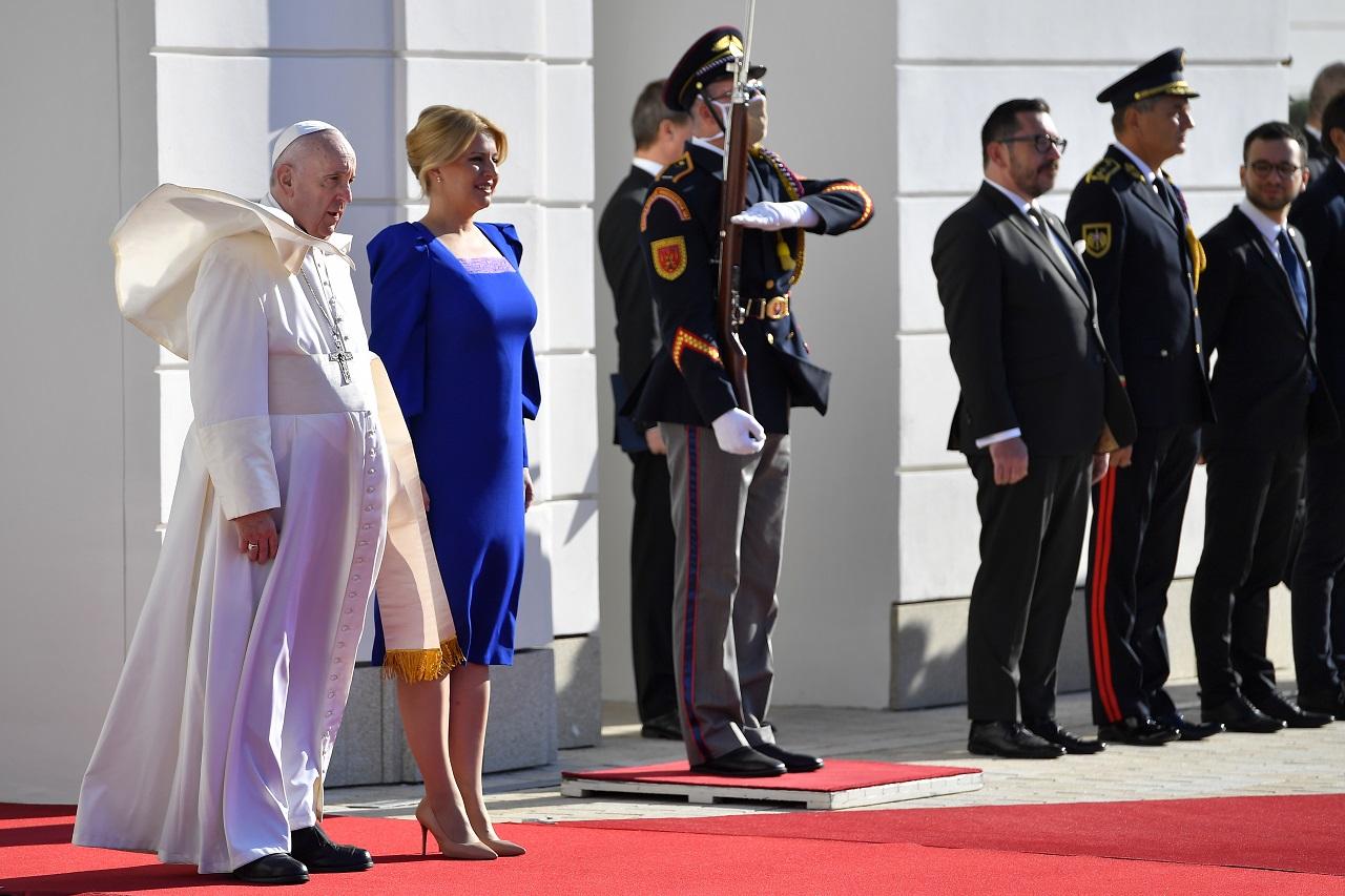 Pápež František na Slovensku