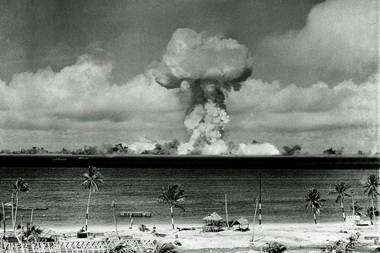 hríb Marshallové ostrovy atómová energia rádioaktivita rádioaktívny spád