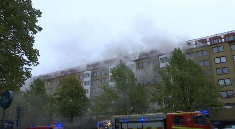 Göteborg vybuch