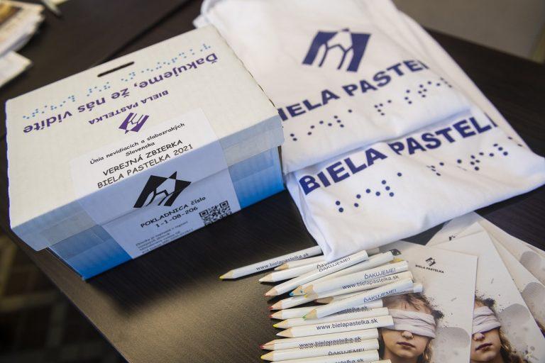 Tlačová konferencia Únie nevidiacich a slabozrakých Slovenska na tému: Biela pastelka spája nevidiacich s informáciami alebo Prístupnosť elektronických dokumentov a iných médií