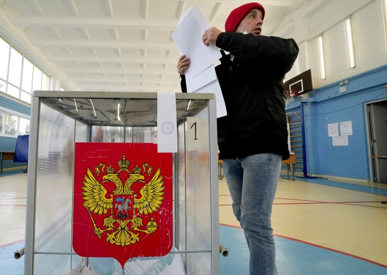 rusko volby