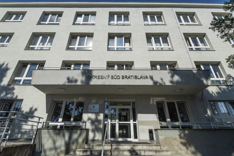 budova, v ktorej sídli Okresný súd Bratislava III
